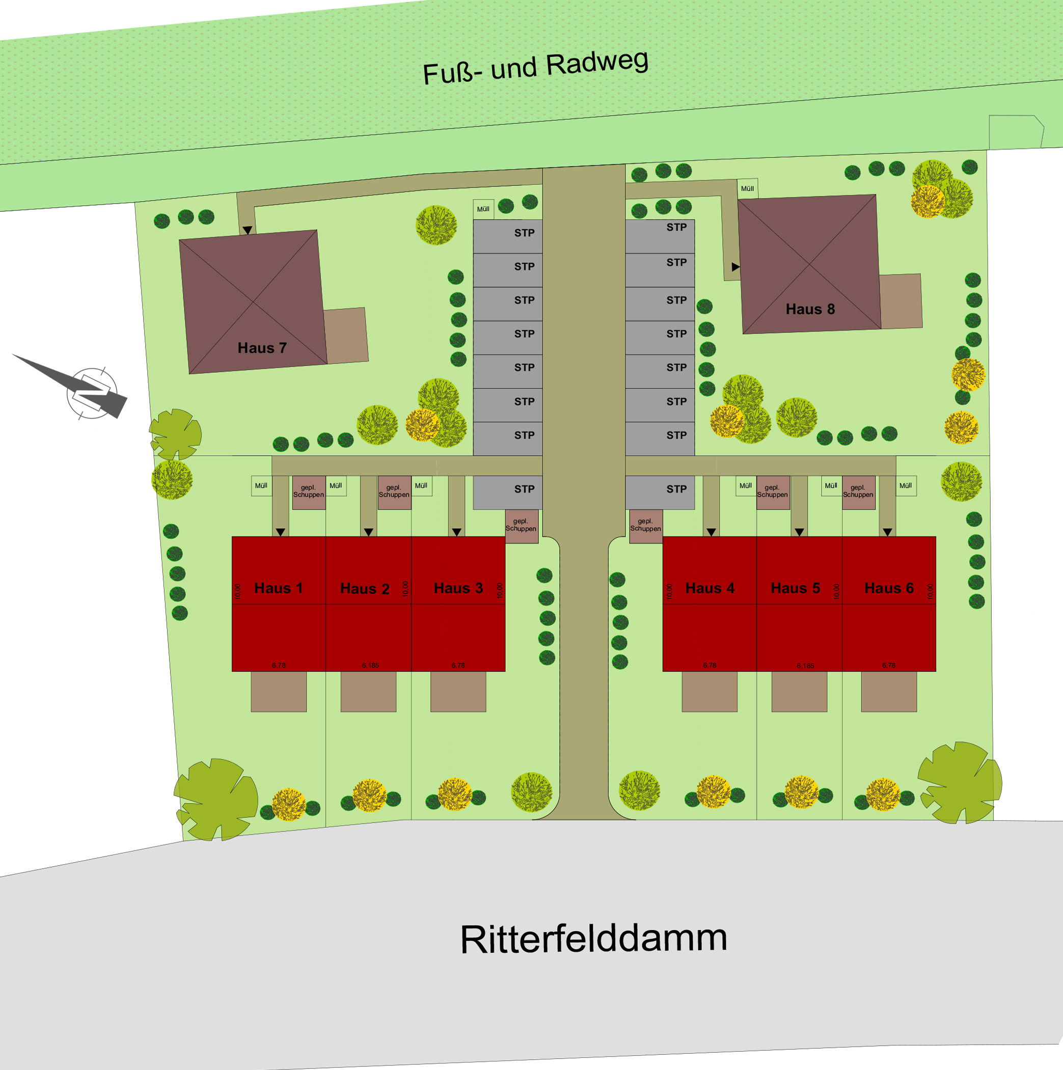 """Haus kaufen Berlin Spandau Ortsteil Kladow """"Dorf in der"""